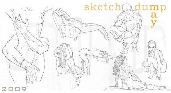 Sketch Dump - May by JavierReyes