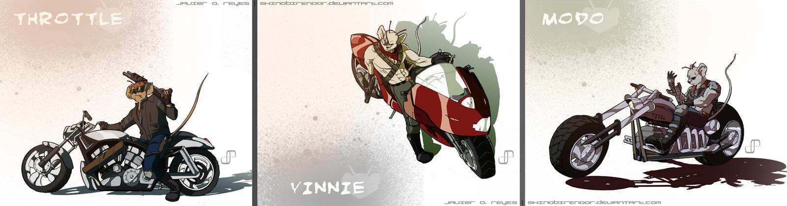 commish: Biker Mice from Mars by JavierReyes on DeviantArt