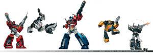 Pinball Comish- Autobots