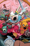 Adventure Time #21 Cover Colors
