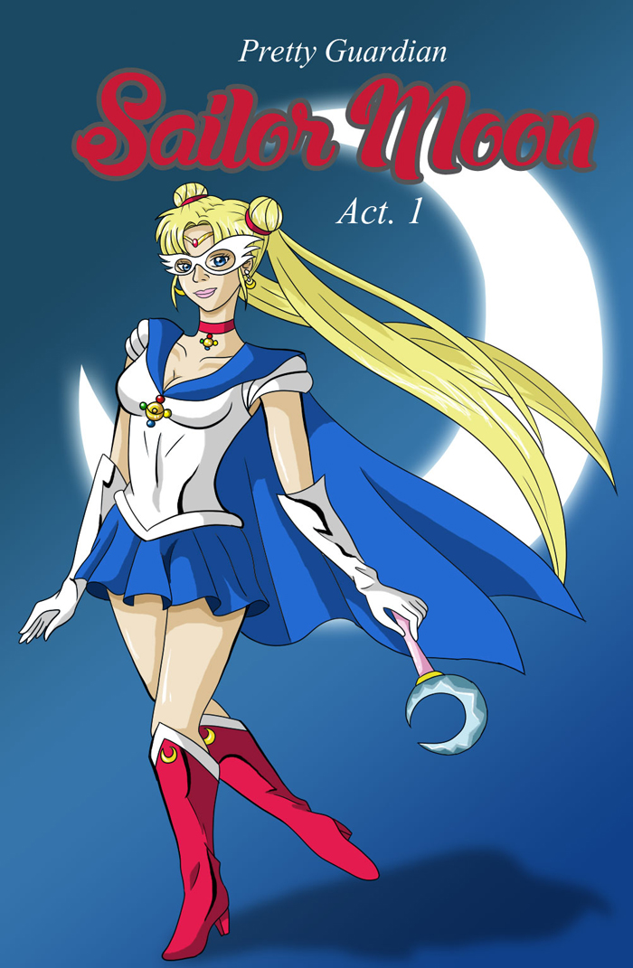 If Sailor Moon Was An American Comic By Rose15XX