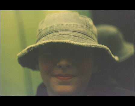 Smiling hat...