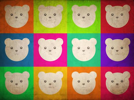 Polar Bear Pop Art