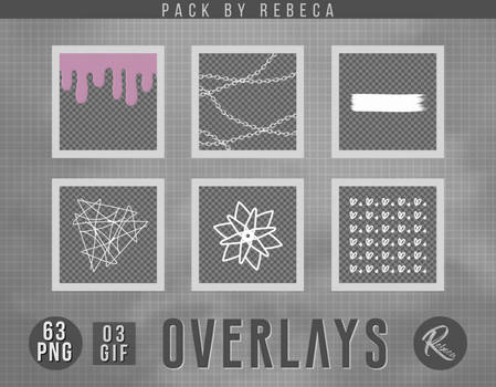 Overlays Pack By Rebeca