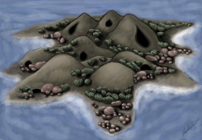 Island for CC by Aelyaniara