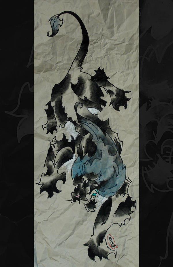 danglion print by mrdang