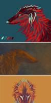 Borzoi - Colour Studies