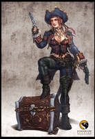Victoria- Pirate Chick Updated by HecM