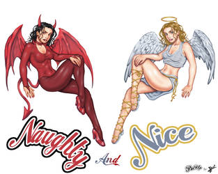 Naughty and Nice by HecM