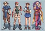 Street Fighter Girls