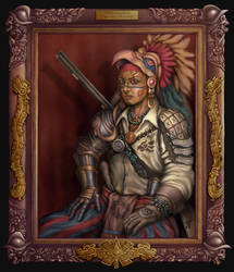 Dark Eagle - Aztec Pirate by HecM