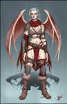 Izel - Barbarian Succubus