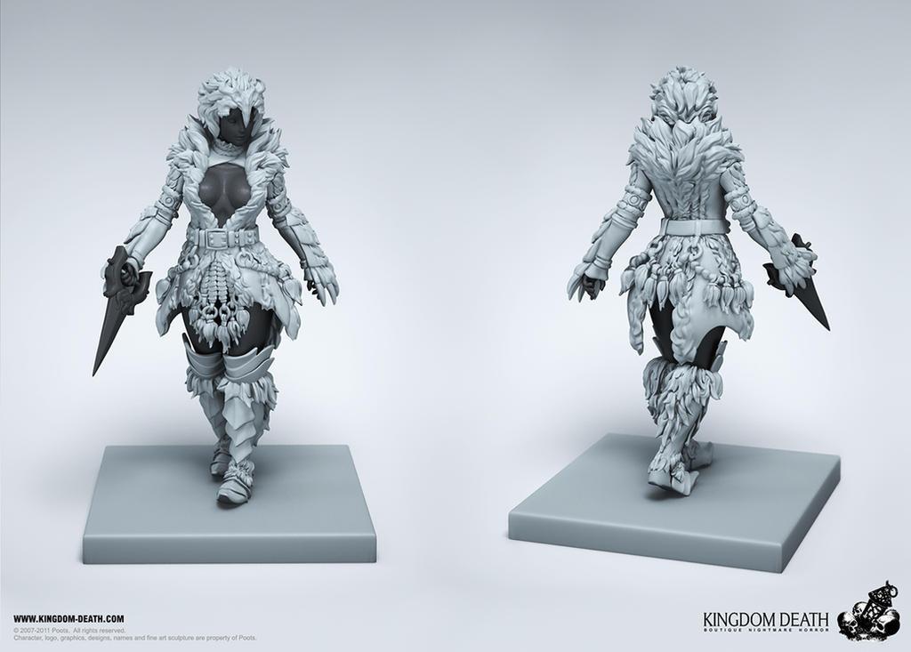 White Lion Armor Kit (female) 02 by HecM
