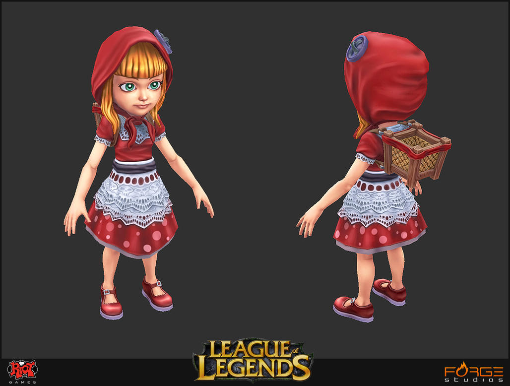 Red Riding Hood Annie Mesh by HecM