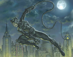 The real Catwoman, Dammit by HecM