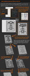 Zbrush Tutorial -  Books and Detailing Props P3 by HecM