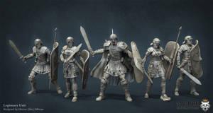 Legionaries Unit by HecM