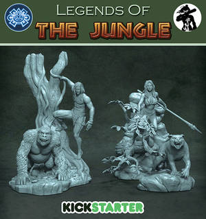 Legends Of The Jungle Kickstarter