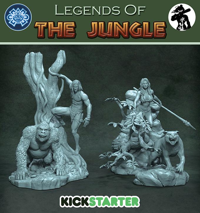 Legends Of The Jungle Kickstarter