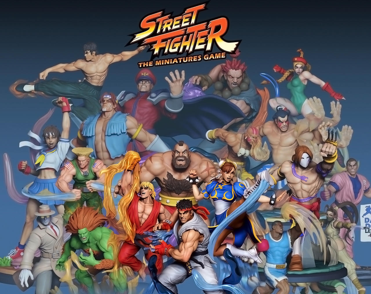 Street Fighter - The Miniatures Game Preview by HecM