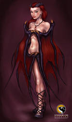 Overlord Characters-Succubus1 by HecM