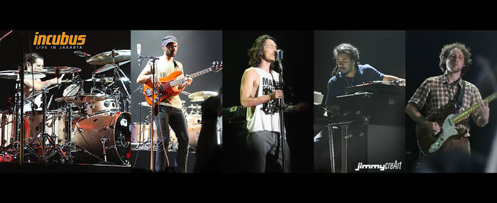 Incubus Live in Jakarta 01