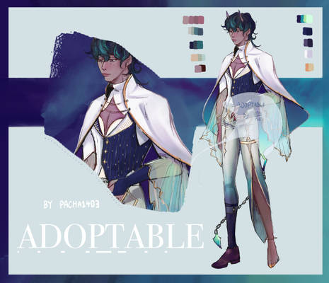 Auction : Adoptable_01 by Pacha1403 (Open)