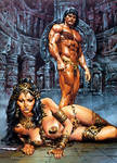 Tarzan and the High Priestess of Opar