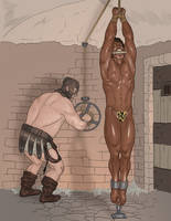 Tarzan Taken to the Dungeon Part 2 by JungleCaptor