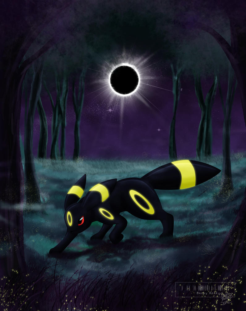 shiny umbreon pokeball wallpaper