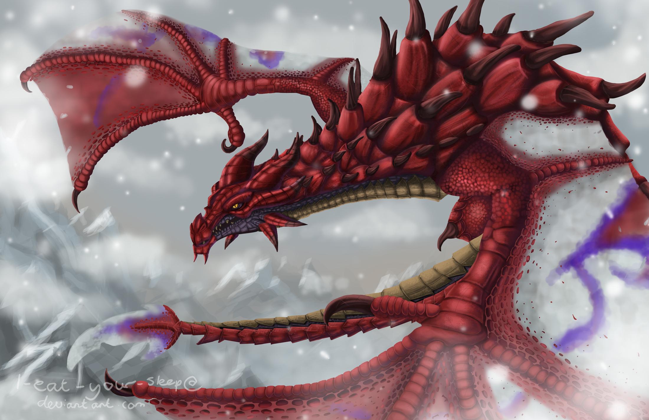 Skyrim: Odahviing by Somnusvorus