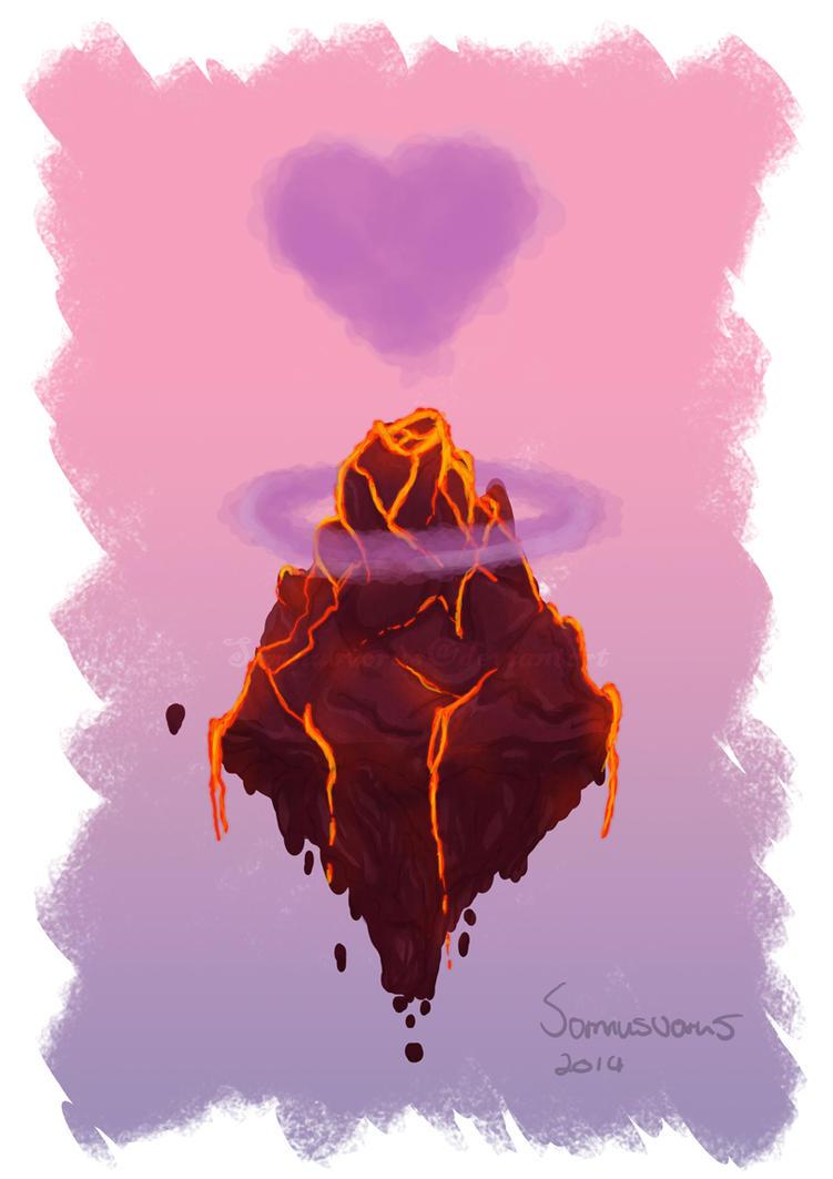 Volcano by Somnusvorus