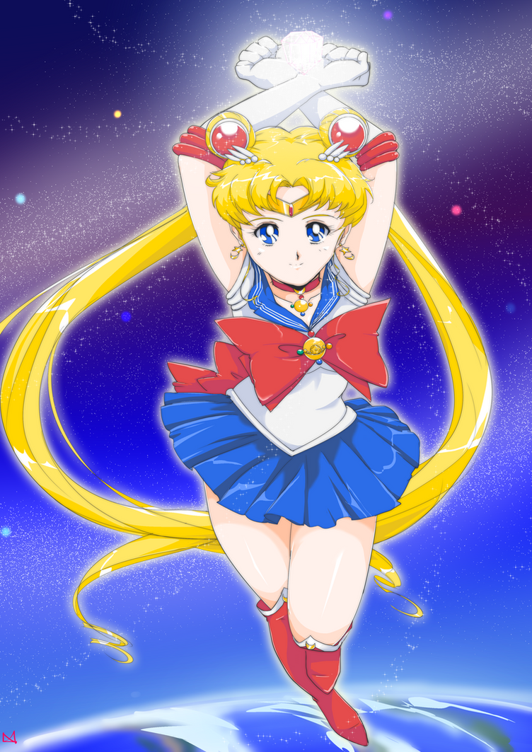Sailor Moon Crystal by Boxas