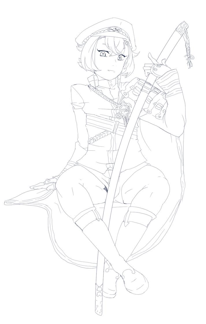 Sword Boy by Boxas