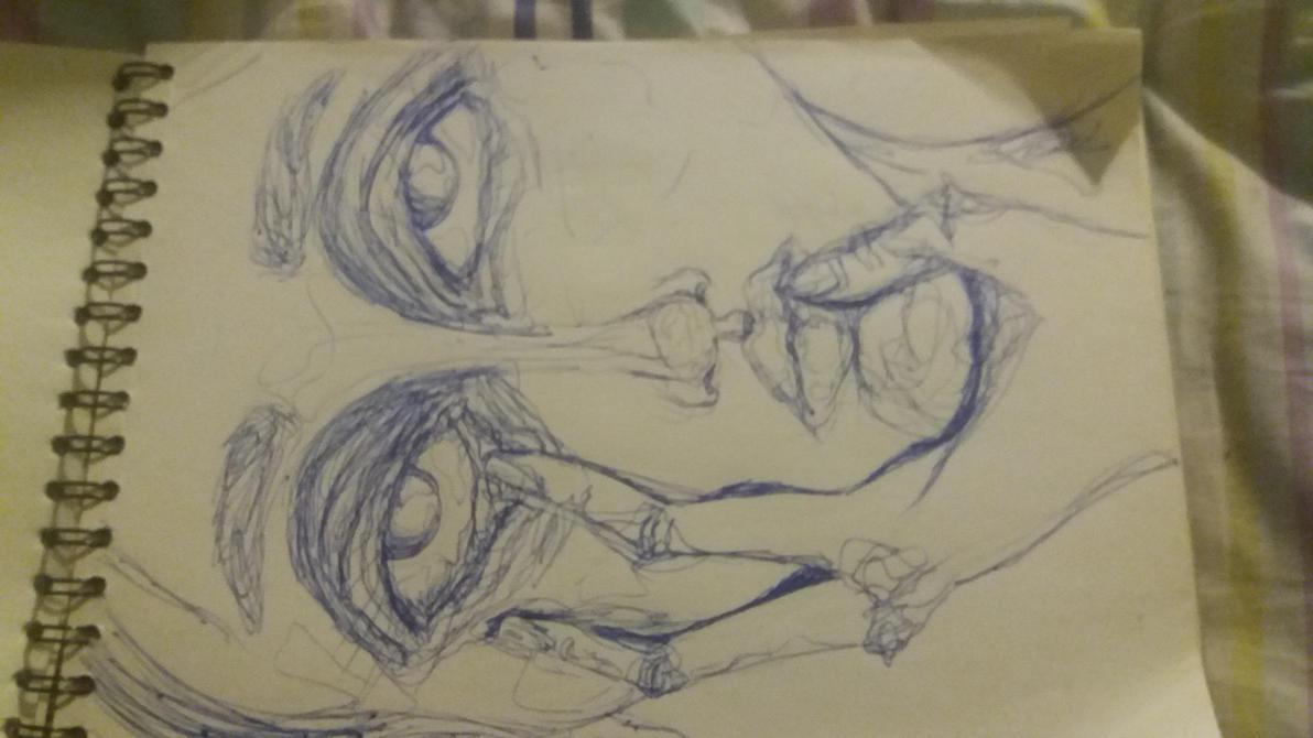 sketch: nomeolvides by deadbruja
