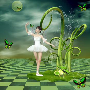Dance Forever in Heaven by QueenOftheNight341
