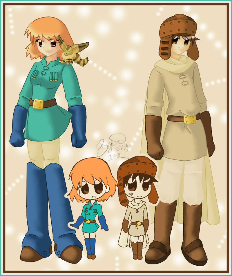 nausicaa and asbel by brigette on deviantart