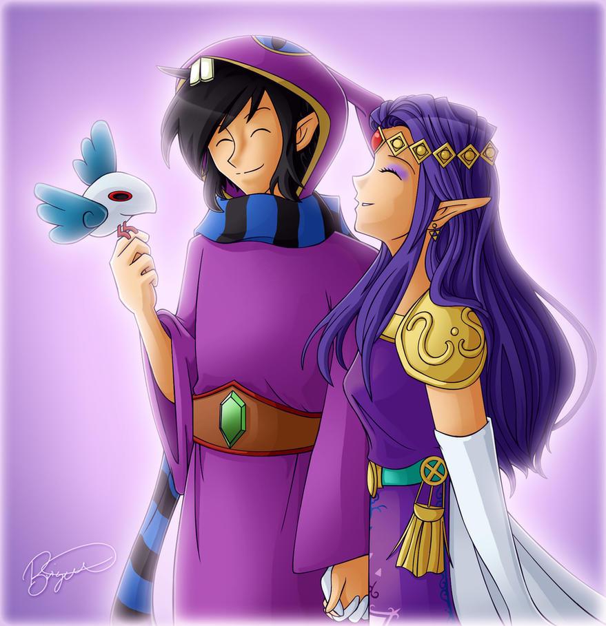 Ravio and Hilda :: ALBW by brigette