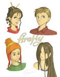 Firefly Sketches by brigette