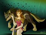 Wolf and Princess