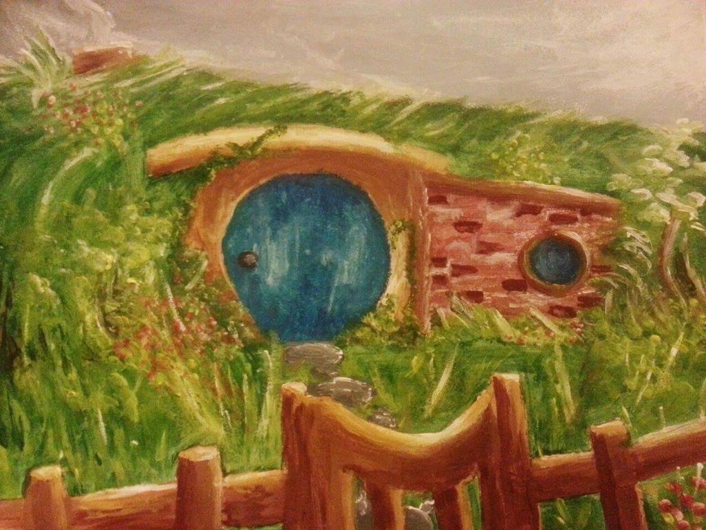 Hobbit Hole by brigette