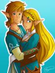 Link + Zelda :: Breath of the Wild
