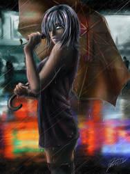 Raining by jadeedge