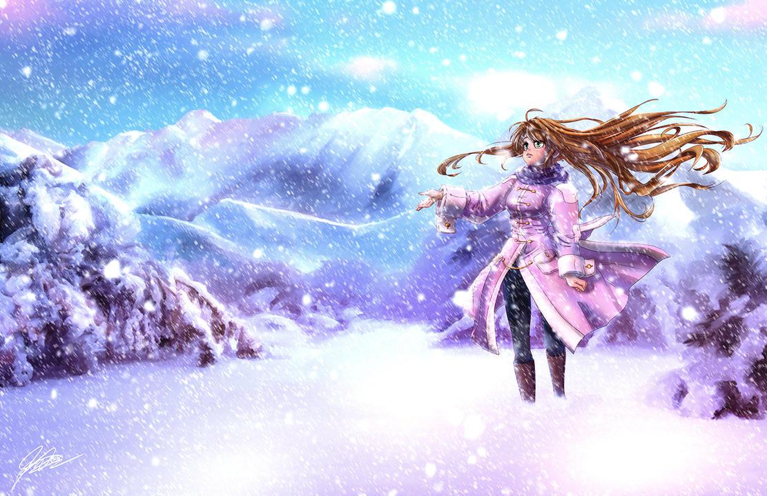 The Snowfall - 2015 by jadeedge