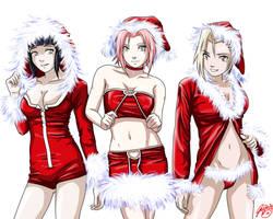 Naruto Xmas - December PinUp