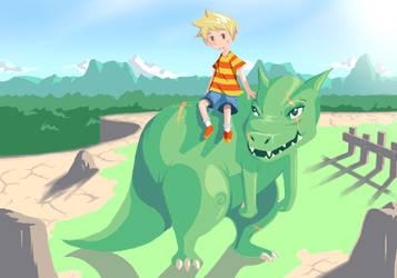 The Drago Rider by Karzahnii