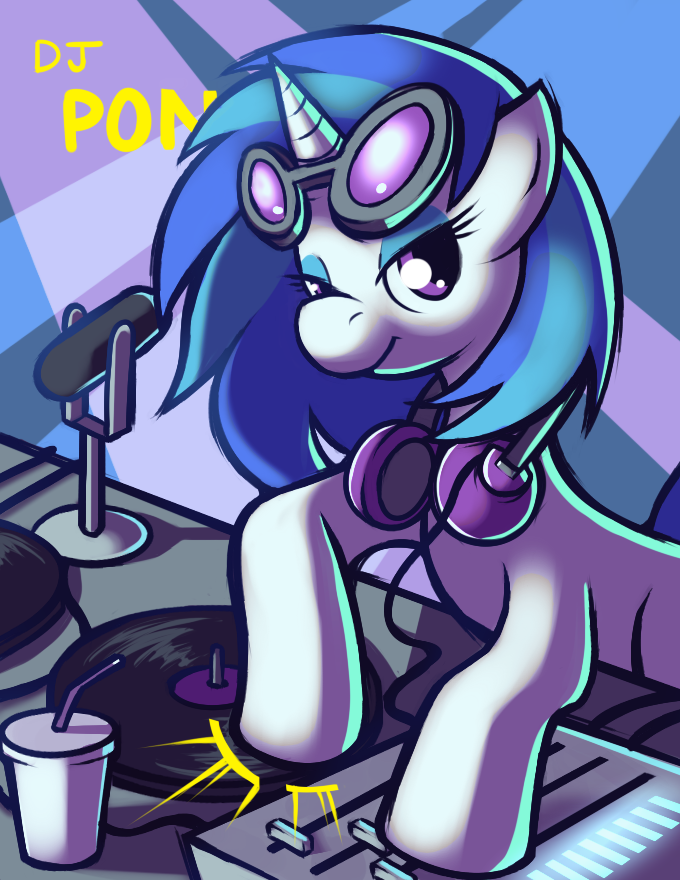 And then some Vinyl Scratch by Karzahnii