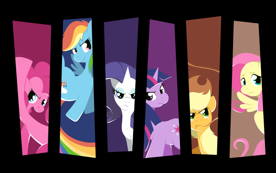 The Mane Six by Karzahnii
