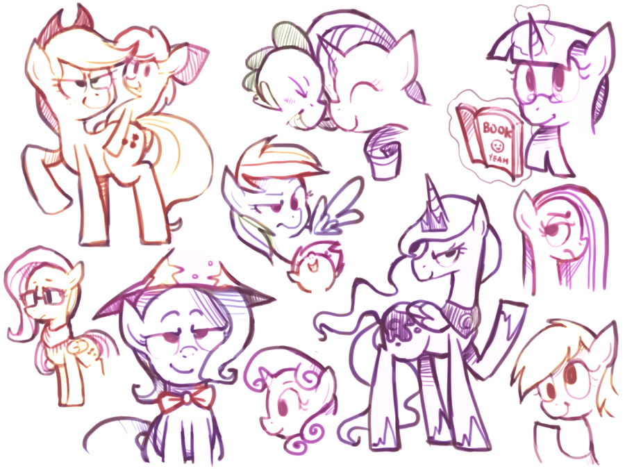 Doodling is Magic by Karzahnii