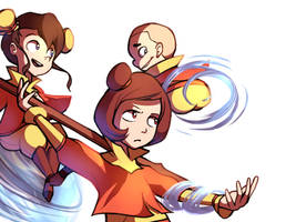 The Airbender Kids by Karzahnii